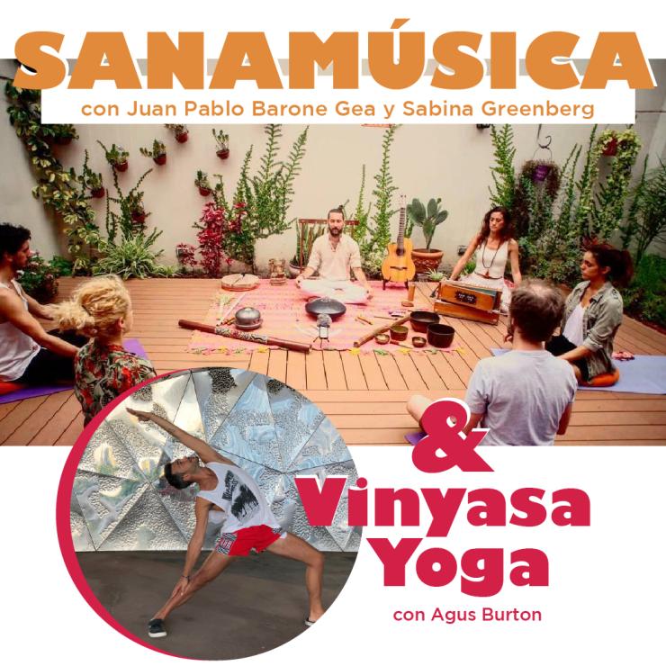 Sanamusica y Vinyasa Barcelona